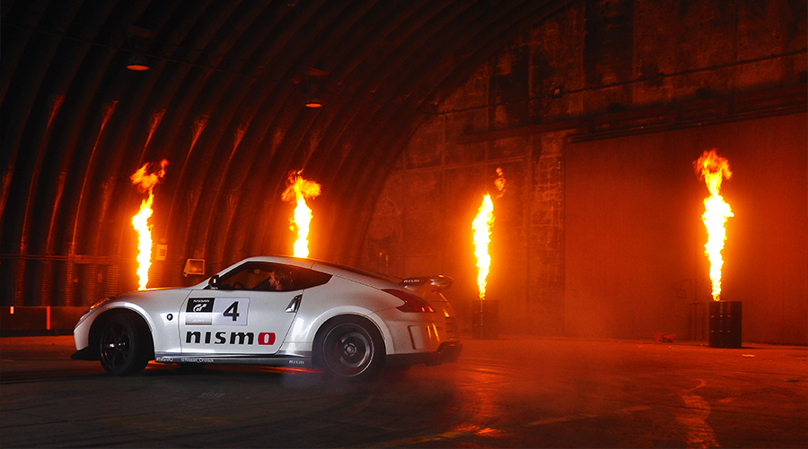 Stage Flame Hire Forcefx