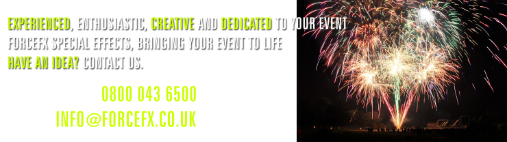 Outdoor Pyrotechnics and Fireworks Displays